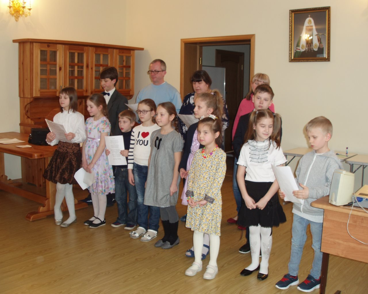 Приходской праздник «День Семьи» в Воскресной школе храма Живоначальной Троицы в Конькове
