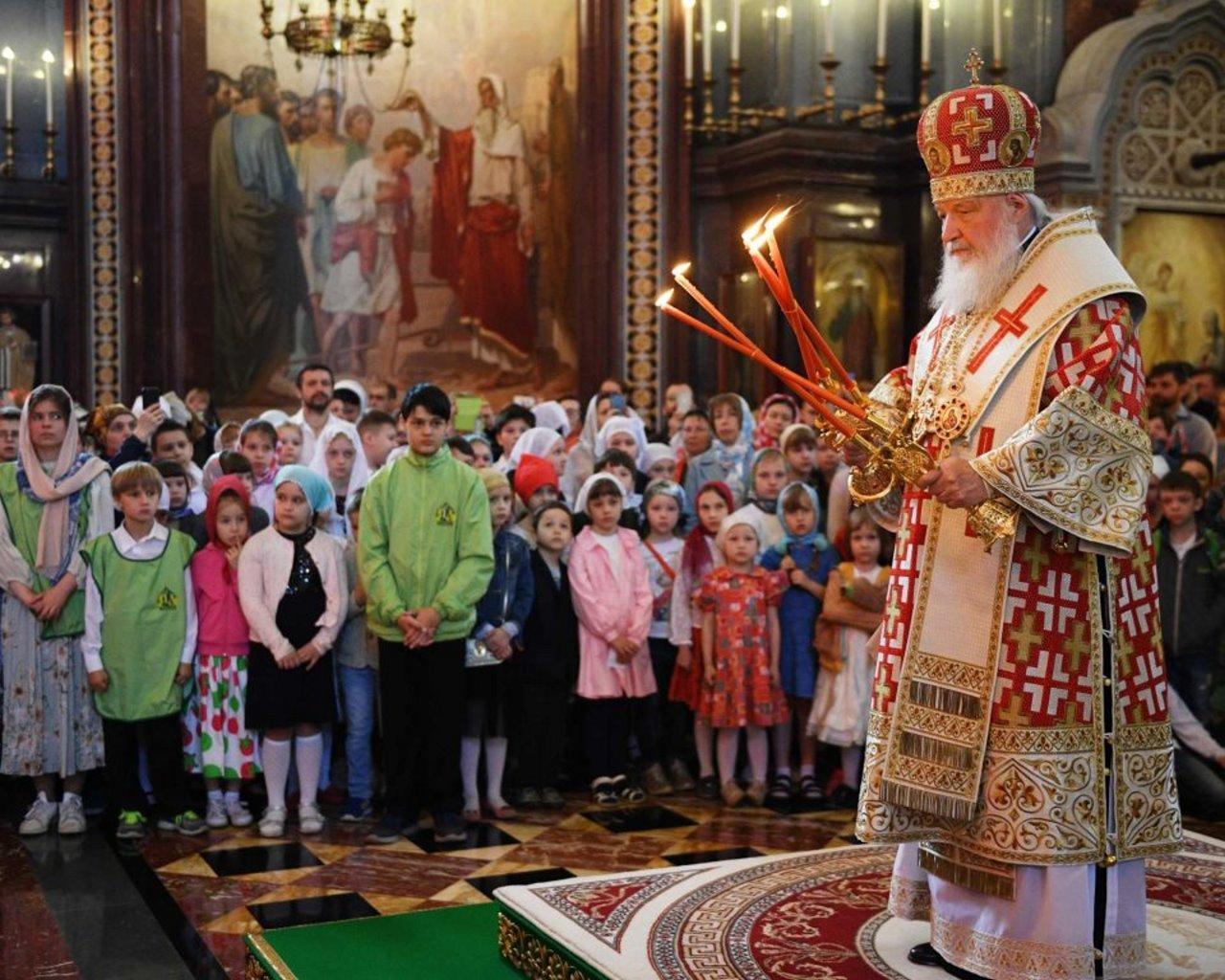 Отчет по мероприятиям воскресных школ благочиния Ставропигиальных приходов и Патриарших подворий М.О. за май 2019 год
