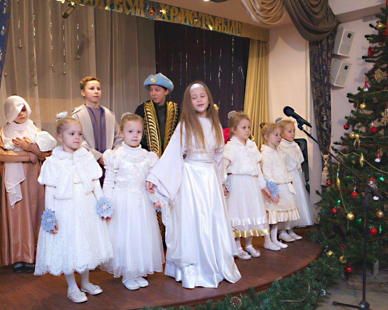Сочельник и Рождественский праздник в Преображенском храме г. Балашихи