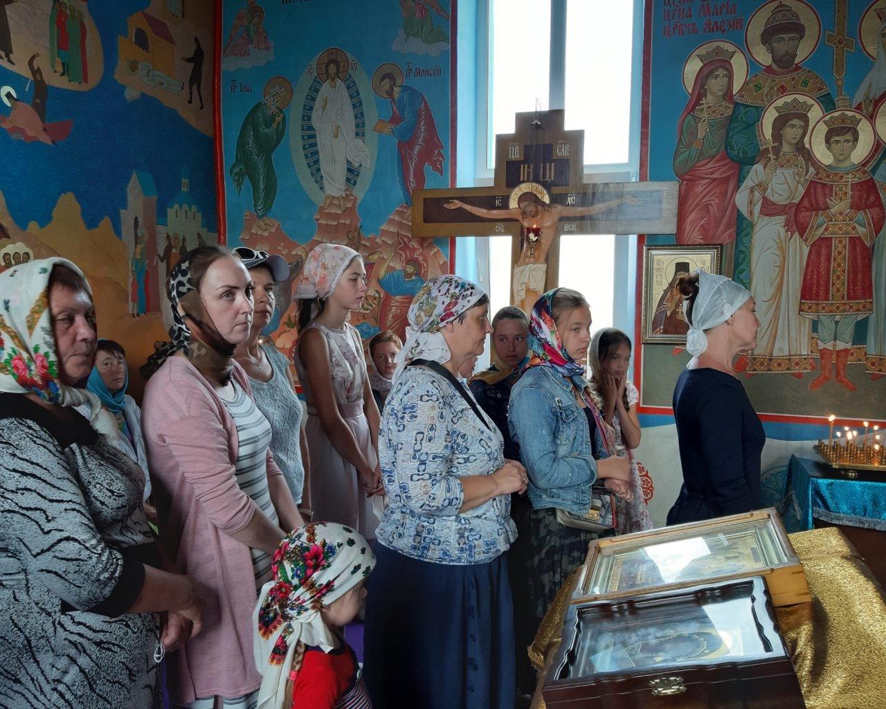 Богослужения на острове Ольхон