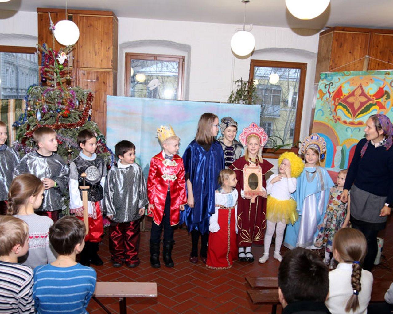 Святочный детский музыкальный фестиваль