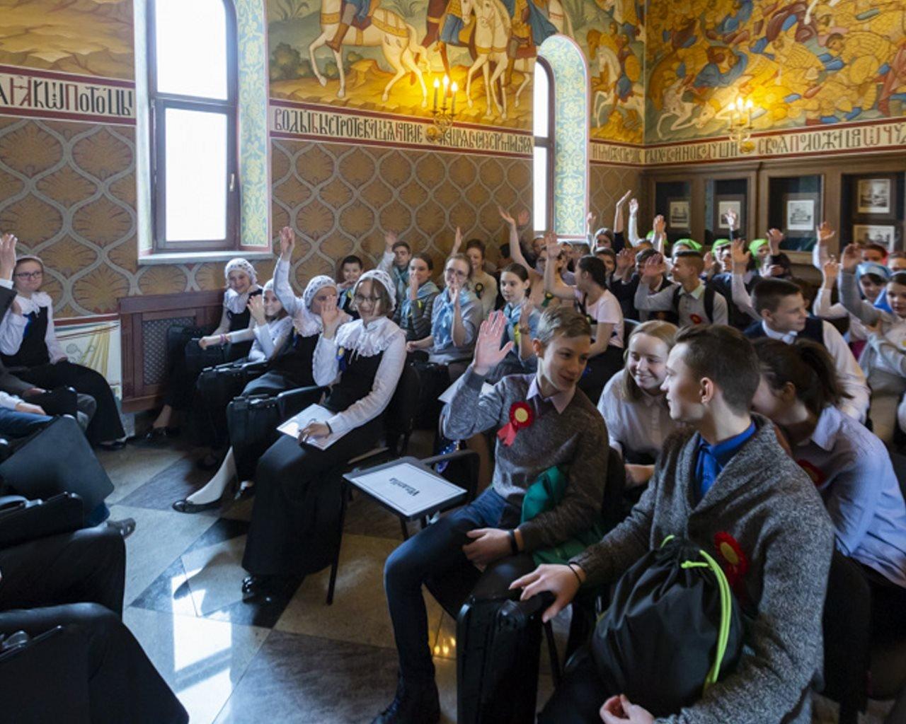 В воскресной школе «Радовесть» прошла  VI детская историческая интеллектуальная игра «Путешествие в прошлое Москвы»