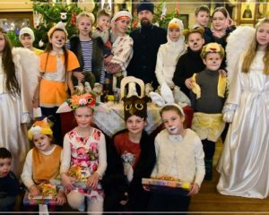Рождественский праздник в храме Святой равноапостольной Нины