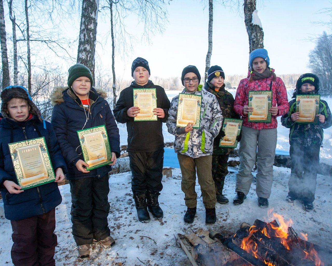 Зимний однодневный поход при содействии «Народной Дружины»