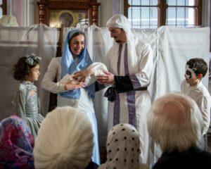Праздник Рождества в храме Живоначальной Троицы в Кожевниках