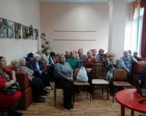 Творческая встреча в ЦСО «Чертаново северное»