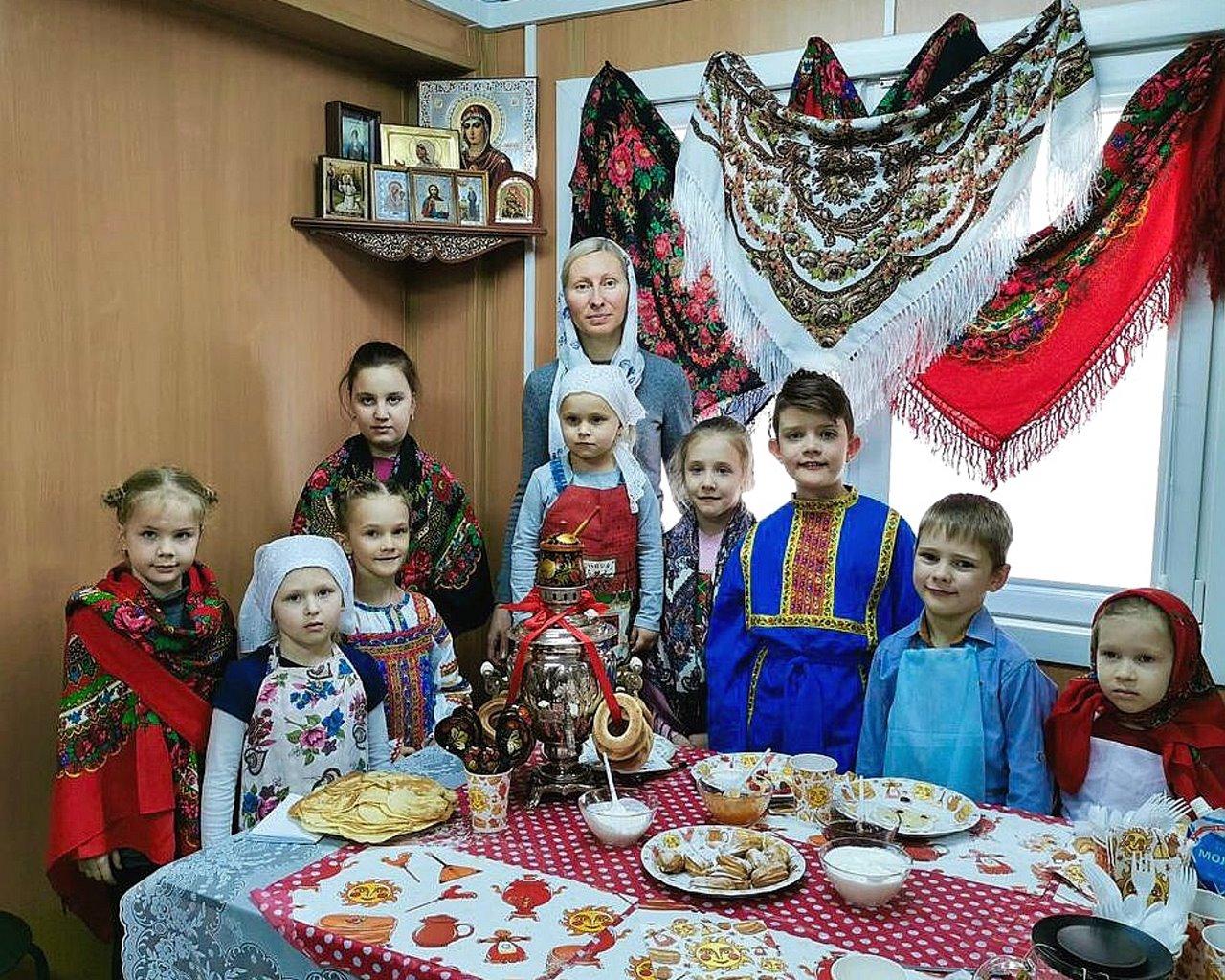 Детский мастер-класс по выпечке блинов