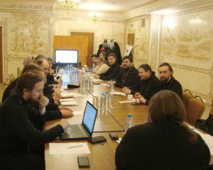 Заседание Комиссии по церковному просвещению и деятельности воскресных школ