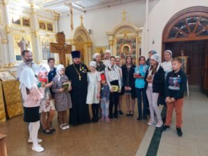 Очередной выпуск Воскресной школы храма святителя Иова
