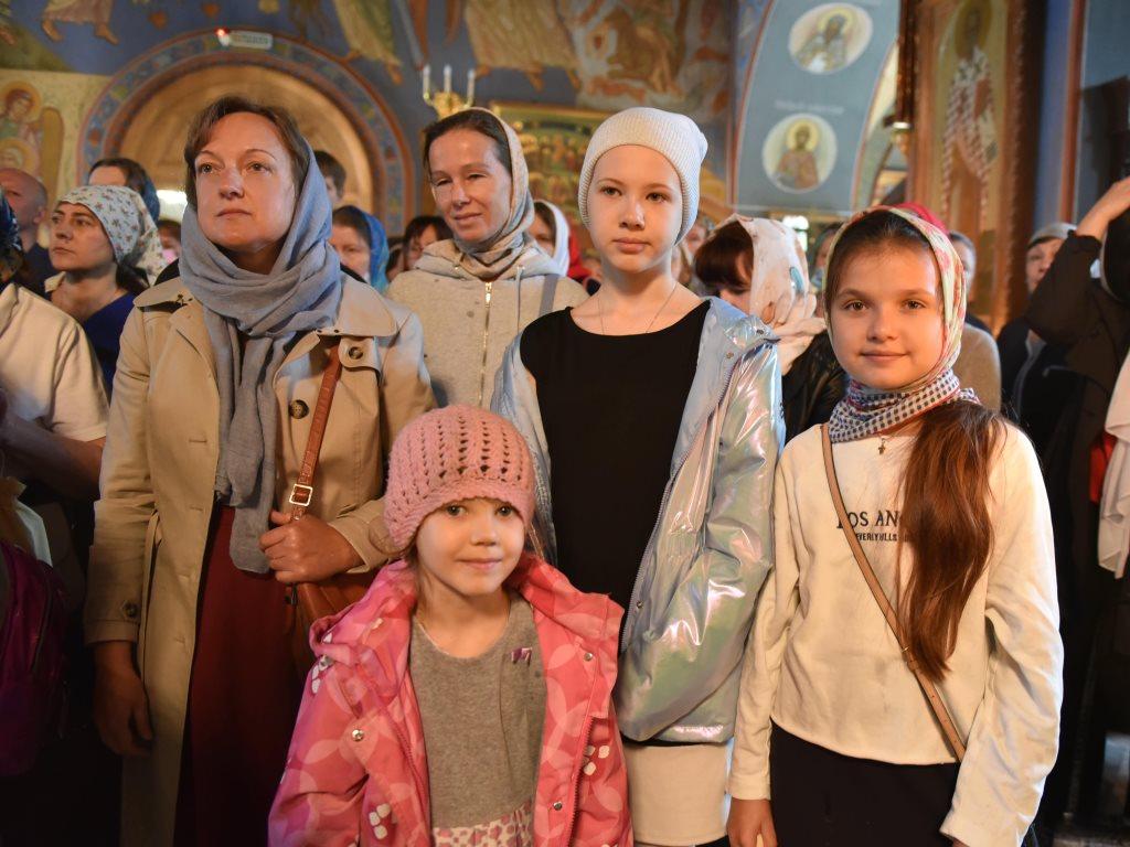 Новый учебный год в Воскресной школе храма Живоначальной Троицы