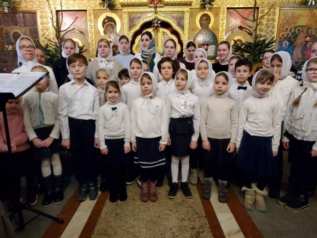 Праздничный концерт, посвящённый Рождеству Христову