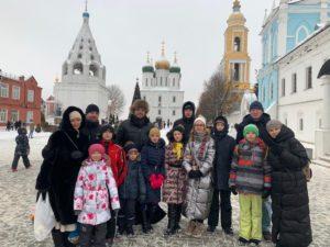 Группа прихожан Троицкого храма посетила город Коломну