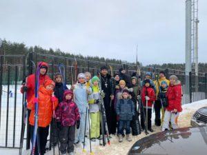 Лыжная прогулка в поселке Старый Городок
