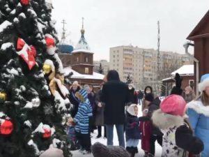 Детский праздник «Рождественской ёлки»
